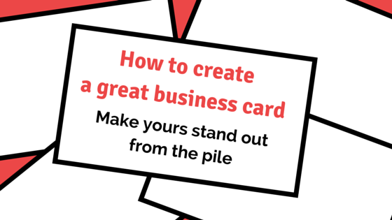 How to create a great business card